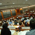 A Harvard Business School classroom
