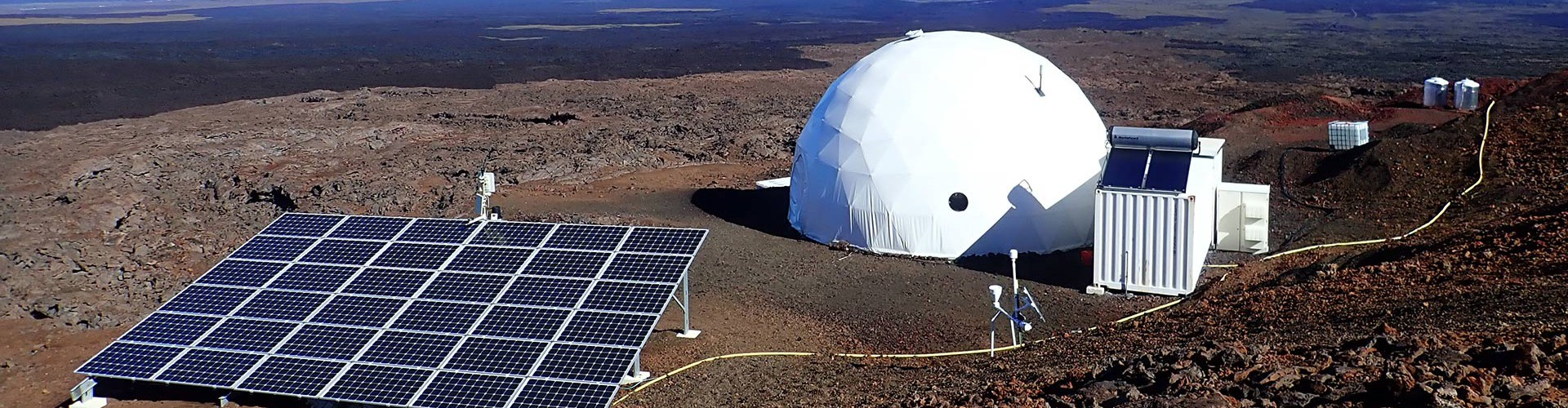 The HI-SEAS analog astronaut training facility high on Mauna Loa, Hawaii (Credit: HI-SEAS)