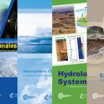 Current covers of ADGEO, ANGEO, ACP, HESS, NHESS, NPG