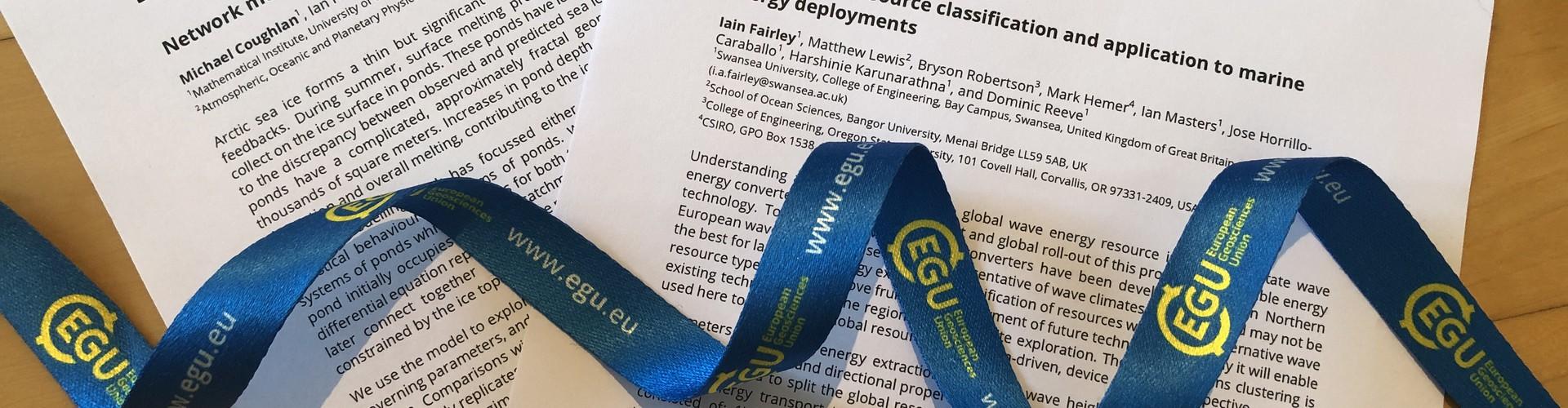 EGU papers publishing