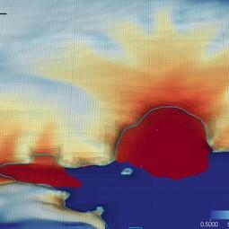 Retreat in the Amundsen Sea Embayment in 2154