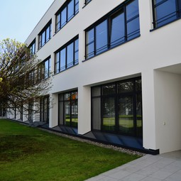 Outside view of the new EGU Executive Office space (second floor)