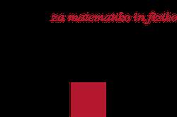 University of Ljubljana, Faculty of mathematics and physics logo