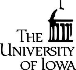 University of Iowa; Department of Physics & Astronomy logo